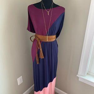 Dresses & Skirts - Boutique Asymmetrical Shoulder Jersey Dress